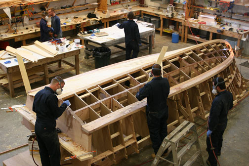 Wooden boat company maine, boat trailer kits qld, boat building ...